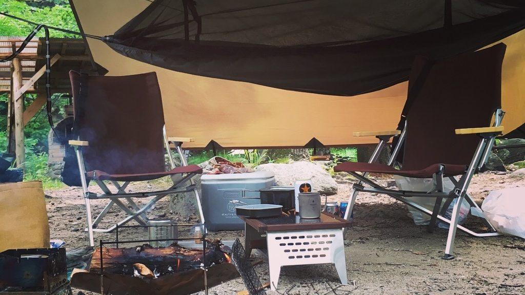 ソロデイキャンプに必要な道具は7種類