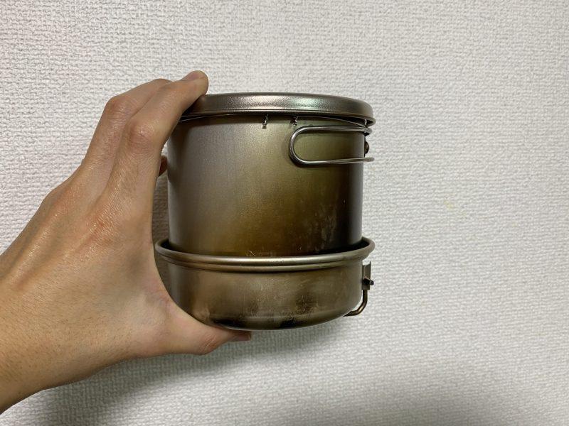 アルコールストーブとクッカーセット【軽量で料理しやすい】