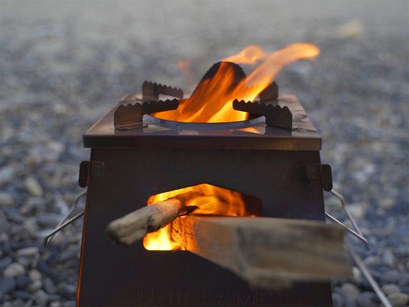 ネイチャーストーブラージをレビュー【焚火も料理もしやすい】